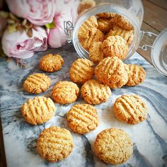 Egg Free Oat Cookies Egg Free Recipes, Baby Food Recipes, Vegan Recipes, Cooking Recipes, Bellini Recipe, Oat Cookies, Coconut Sugar, Cooking Time, Finger Foods