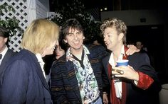 George Harrison, Tom Petty and Brian Setzer during the 2000 Billboard Music Awards in Las Vegas, Nevada on December 5th, 2000  Read more: http://www.rollingstone.com/music/pictures/tom-petty-through-the-years-20111020/george-harrison-and-brian-setzer-0039420#ixzz3enSXxEeC  Follow us: @rollingstone on Twitter | RollingStone on Facebook