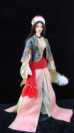 Yildiz - Turkish costume for customized Elle doll