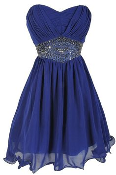 Sweetheart, royal bule, Bridesmaid Dress, Homecoming Dresses for Juniors, Short Prom dresses