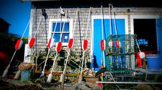 Lobster Traps and Shed, Menemsha Harbor, Martha's Vineyard