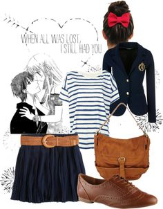 """""""Casual Tohru Honda"""" by disfordelilah on Polyvore"""