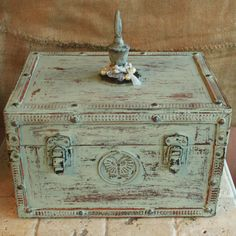 Decorative Box via Revisited Concepts on Etsy
