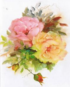 GARY JENKINS - 105098721814206898449 - Picasa Web Albums Rose Pictures, Artist Painting, Painting & Drawing, Gary Jenkins, Romantic Roses, Antique Roses, Decoupage, Flower Art, Watercolor Paintings
