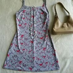 Selling this Vintage 'Active' Mini fitted floral dress in my Poshmark closet! My username is: goensshopping. #shopmycloset #poshmark #fashion #shopping #style #forsale #Vintage #Dresses & Skirts