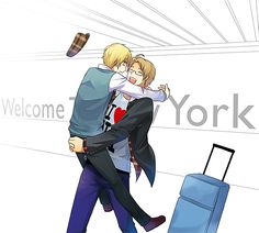 APH: Welcome To New York by ~Junez-chan on deviantART