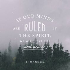 """""""For the outlook of the flesh is death, but the outlook of the Spirit is life and peace, because the outlook of the flesh is hostile to God, for it does not submit to the law of God, nor is it able to do so. Those who are in the flesh cannot please God."""" Romans 8:6-8 NET http://bible.com/107/rom.8.6-8.net"""