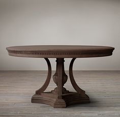 James Round Dining Table from Restoration Hardware not necessarily this color Round Dining Table, Table, Dining, Nook Table, Dining Room Table, Restoration Hardware Dining Chairs, Kitchen Table Bench, Breakfast Nook Table, Kitchen Table