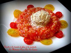 Risotto à la tomate et glace à la moutarde, Battle Food #23 'complètement givrée'