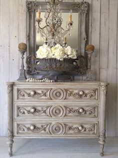Baroque French Chest Of Drawers...