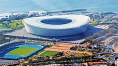 Cape Town Stadium in South Africa. Home of Ajax Cape Town.