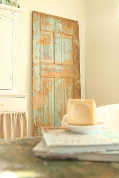 French Larkspur: Flea Market Finds...Another Vintage Door