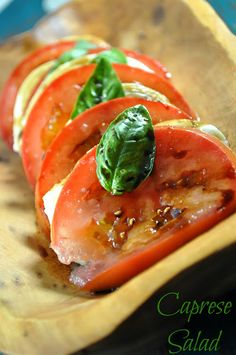 The Food Hussy!: Recipe: Caprese Salad (who knew it was this damn easy?!)
