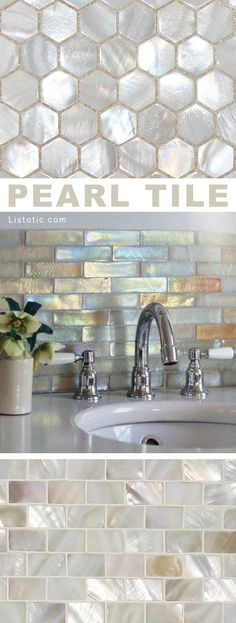 Pearlized tile