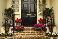 ...♥♥    Front Door, King Street, Charleston, SC  by Doug Hickok