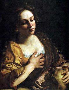 Artemisia Gentileschi - Maddalena penitente, collezione privata, 1630-1635