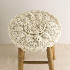 crochet stool cover 호비라 호비레 제품 구입 했어요