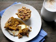 Pumpkin Streusel Muffins from CookingChannelTV.com