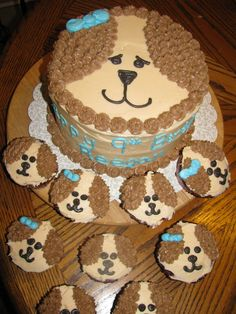 Baking Love and Joy: Puppy Dog Cake