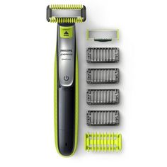 Enjoy a clean and easy shave with this Philips Norelco OneBlade Face + Body Hybrid Electric Trimmer & Shaver. Best Trimmer, Trimmer For Men, Body Groomer, Trimming Your Beard, Best Electric Shaver, Body Electric, Electric Razors, Electric Vehicle, Philips