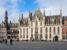 Characterized by cobblestone streets and canals, much of Bruges's immaculately preserved old city was built between the 12th to 15th centuries: As a result, it's not hard to feel like you're in a medieval fairy-tale here. Visit the Church of Our Lady for a viewing of Michelangelo's Madonna and Child, or sit at a café and take in the views of the Markt, a historic square in the city center.