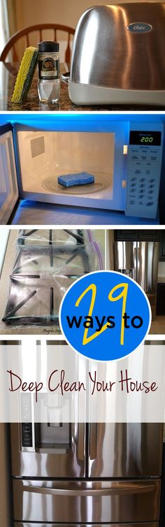 29 Ways to Deep Clean Your House