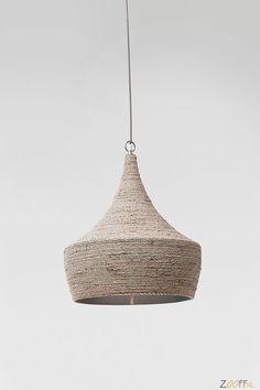Suspension Sisal Beige Ø Bordeaux, Sisal, Pendant Lamp, Ceiling Lights, Beige, Lighting, Detail, Inspiration, Mad