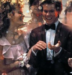 Footloose...loved this movie so much...the soundtrack...Kevin Bacon...sigh