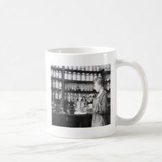 Woman Chemist, 1919 Coffee Mug
