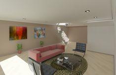 Arte 3D Sala de esta