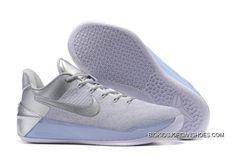 """Find New Release Nike Kobe A. """"Silver/White"""" online or in Shop Top Brands and the latest styles New Release Nike Kobe A. """"Silver/White"""" at Basketball Shoes Kobe, Basketball Shorts Girls, Basketball Hoop, Basketball Tickets, Basketball Leagues, Nike Sb Dunk, Nike Zoom Kobe, Nike Lebron, Discount Nikes"""