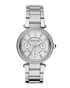 Michael Kors Mini-Size Parker Multi-Function Watch fc1066f50d