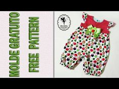 Macacão Maçãzinhas 3 meses a 3 anos - YouTube Girls Frock Design, Kids Frocks Design, Sewing Baby Clothes, Baby Sewing, Party Wear Frocks, Party Dresses, Flower Girl Tutu, Flower Girls, Little Girl Pageant Dresses