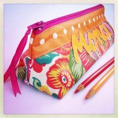 Exemple Trousse d'école ♥ Mona ♥ | Mamzelle Adele, créatrice d'accessoires textiles | mamzelleadele