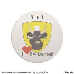 Uri Schweiz Suisse Svizzera Bierdeckel