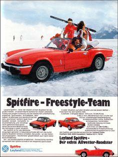 Vintage Leyland Spitfire  Ad - 1977