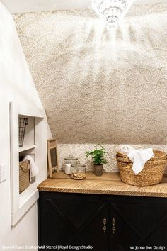 449 best Stenciled Painted Walls images on Pinterest