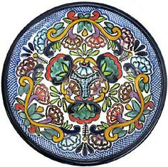 Talavera Dinnerware Pattern 40 ♥️♣️♣️Talavera Mexican Pottery : More At FOSTERGINGER @ Pinterest 🔷🔹♣️