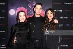 Zoe Lister-Jones, Colin Hanks and Angelique Cabral attends 'Eagles of Death Metal: Nos Amis (Our Friends)' premiere from HBO & Live Nation Productions on February 2, 2017 in Los Angeles, California.