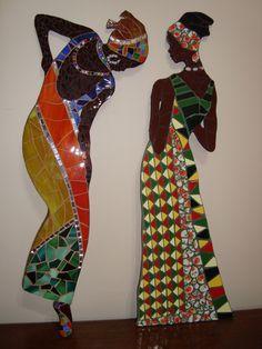 africanas | 1 Vidrio y espejo 2 Azulejos, cerámica esmaltada… | Flickr