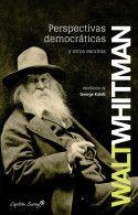 Perspectivas democráticas de Walt Whitman. editorial Capitán Swing