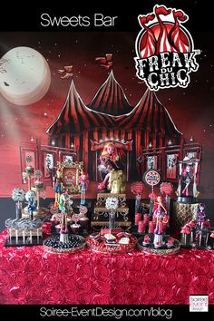 | Monster High Party – Freak du Chic | http://soiree-eventdesign.com