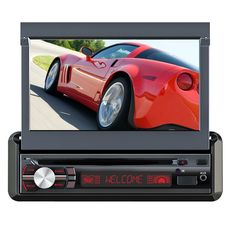 Quantum FX Bluetooth Car Stereo System with 7 Inch Detachable Panel TFT Touch Screen