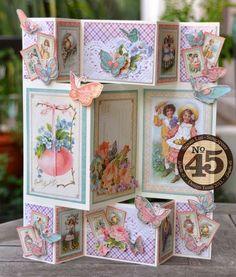 Sweet Sentiments Tri-Shutter Carte & Tutoriel: http://luv2scrap-pages.blogspot.be/2014/03/sweet-sentiments-tri-shutter-card.html