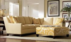 Furnishings That Are Stylish and Safe: Protect yourself with rugs that don't slip, sturdy chairs, sofas and beds, coffee tables with rounded corners.