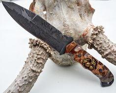 "Half Face Blades on Instagram: ""Disaster Breacher, Burlwood with Eagle Globe n…"