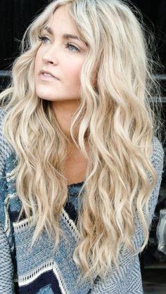 Beach Curls Tutorial - she has lots of great hair video tutorials (beach wave hair tutorial it works) Summer Hairstyles, Pretty Hairstyles, Wedding Hairstyles, Amazing Hairstyles, Hairstyle Ideas, School Hairstyles, Hairstyles Haircuts, Medium Hairstyles, Hairstyle Men