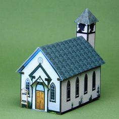 Make a Simple Village Church in 1:144 Scale: Introduction to Making a Village Church in 1:144 Scale