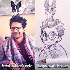 HelloImZeeshan pencil sketch.
