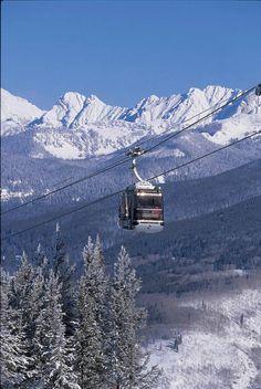 Gondola on Ajax or Aspen Mountain, Colorado State Of Colorado, Aspen Colorado, Colorado Mountains, Aspen Ski, Colorado Winter, Colorado Trip, Vacation Trips, Vacation Spots, The Places Youll Go
